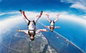 Прыжек с парашютом